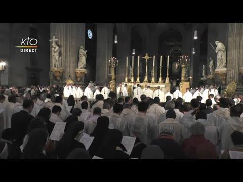 Messe chrismale : premier rassemblement des prêtres de Paris après l'incendie de la Cathédrale