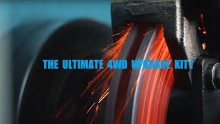 Ford Ranger and Mazda BT50 Brake Upgrade
