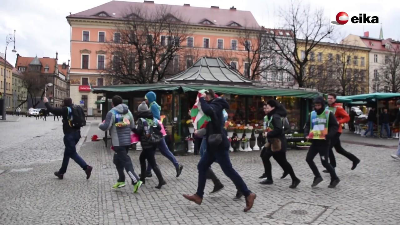 EIKAko poloniarrek Korrikarekin bat egin dute