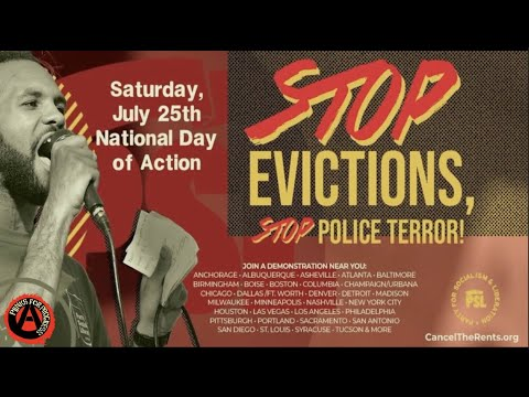 Critical Thought Critique | Stop the Evictions and Police Terror (Action Report)