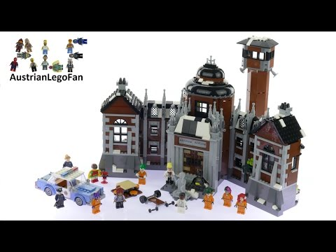 Vidéo LEGO The Batman Movie 70912 : L'asile d'Arkham