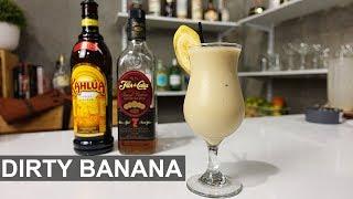 Dirty Banana - RUM, COFFEE & BANANA!