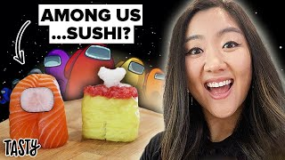 I Tried To Make The Viral Among Us Sushi Characters from TikTok • Tasty by Tasty