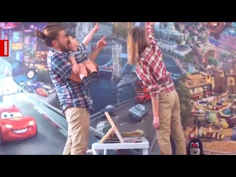 Video Jednodílná dětská fototapeta Víly a ledňáček FTD v 0268, rozměr 90x 202cm 2