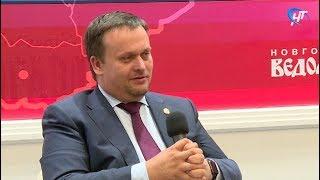 Андрей Никитин назвал сроки для строительства новгородского аэропорта