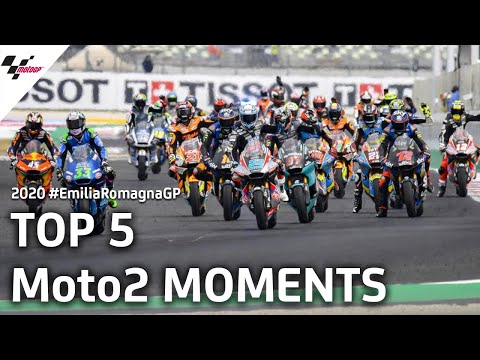 Moto2 ミサノサーキット(エミリア・ロマーニャGP)気になるシーンを集めたダイジェスト動画
