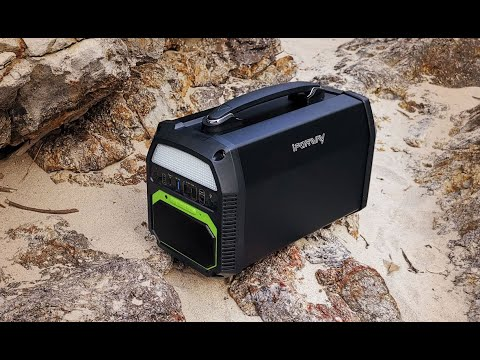 iForway PowerElf 500W Portable Solar Generator