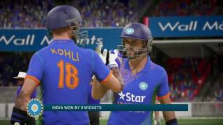 Don Bradman Cricket 17 India Vs England 2017 2nd T20