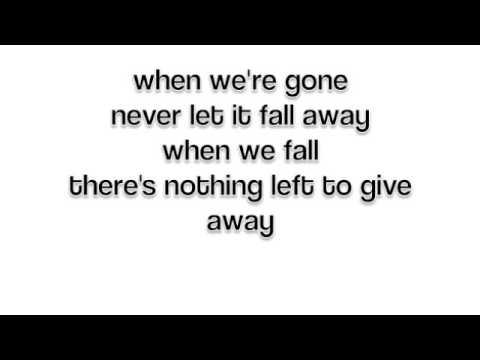 Giveaway (lyrics) - Mark Owen