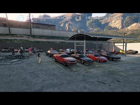 Grand Theft Auto V Online (XB1) | Muscle Car Meet Pt. 3 | Sabre Turbo Build, Cops, Drags & More