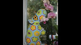 how to crochet hippo toy from  flowers  free pattern  diagrams for EXPERIENCES CROCHETERS