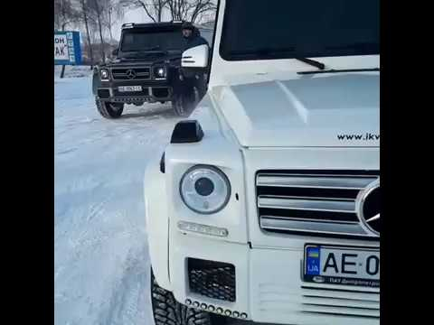 Лімузин Мерседес G-класу (6 колес ) та (8 колес ), відео 6