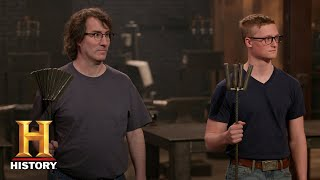 Forged in Fire: Forging Hatchets from Steel Shapes (Season 5, Episode 14) | History