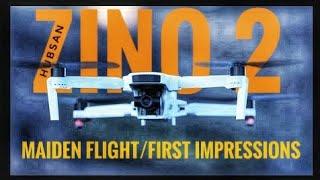 Hubsan Zino 2 - First Flight