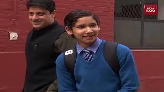 Gautam Gambhir visited Modern School