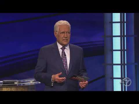 Jeopardy! Greatest Of All Time Tournament - Match 1 Game 1 - 1720 - Final Jeopardy
