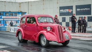 Drag Racing in a Ford Pop