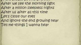 Jon McLaughlin  The Atmosphere Lyrics