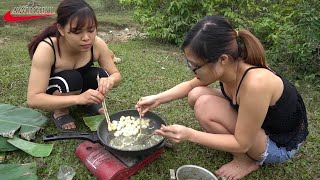 Maganda Girls Pagluluto ahas Village Food Factor || pagkain ng bansa sa aking nayon Pag-eehler ng ah