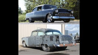 MetalWorks step by step build of a ProTouring 55 Chevy, TriFive, Restoration