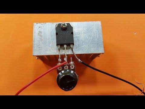 Cómo construir el controlador de velocidad de motor de CC más simple