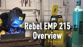 "ESAB Rebel EMP 215ic ""Smart MIG"" feature"