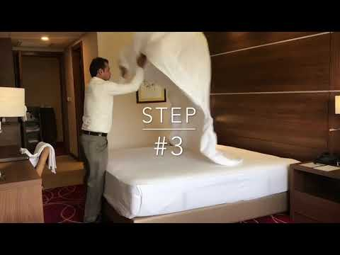 5 easy steps to make a hotel bed