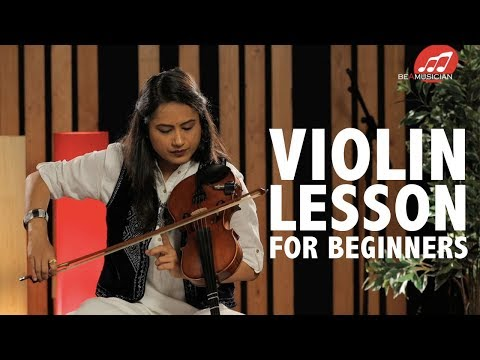 Violin lessons for beginners | Learn basics of Indian classical style