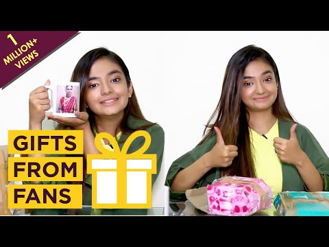 Anushka Sen Unwraps Gifts From Her Fans