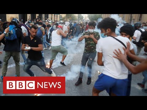 Lebanon's government collapses following Beirut explosion - BBC News