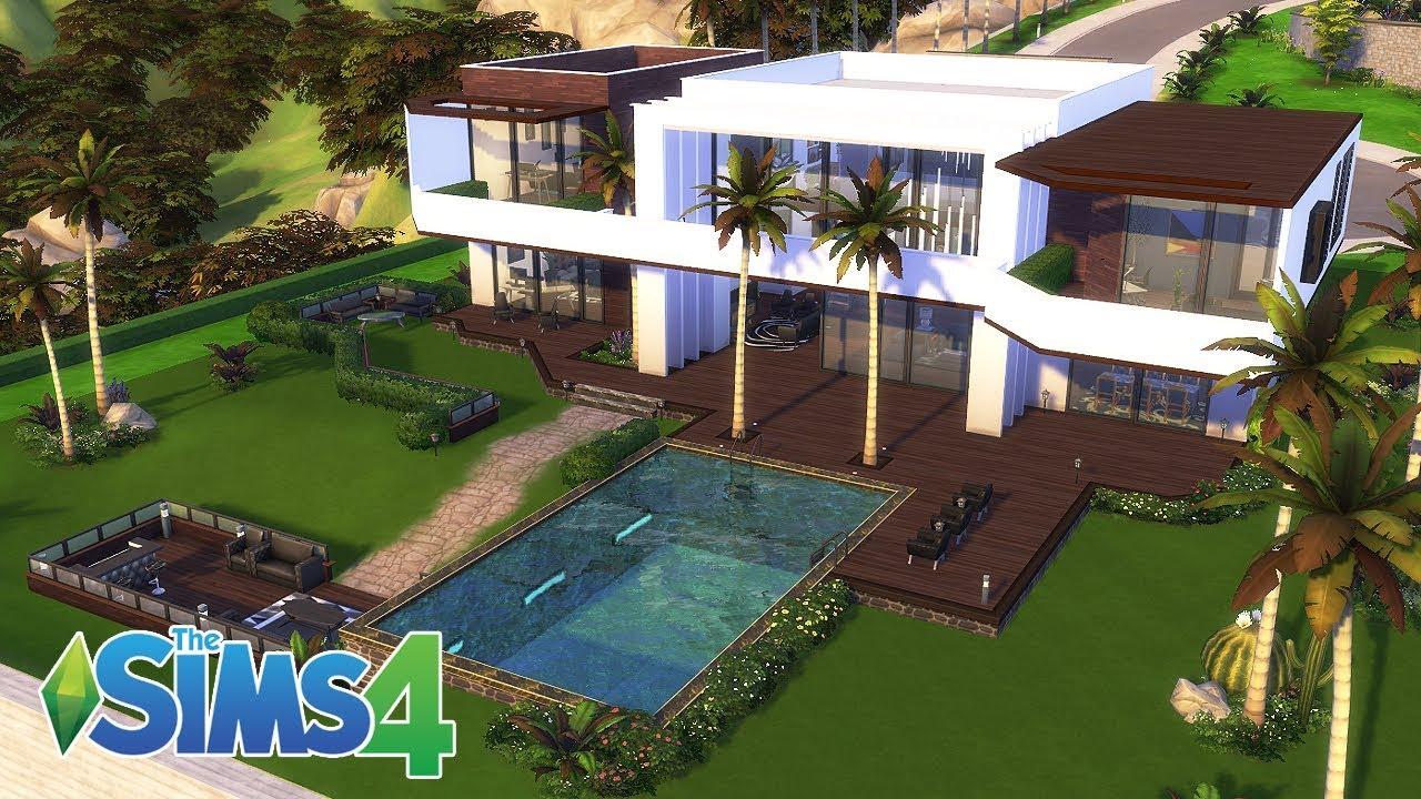 심즈 4 건축 Dj 겸 유튜버의 집 Celebrity Modern House No 1 The