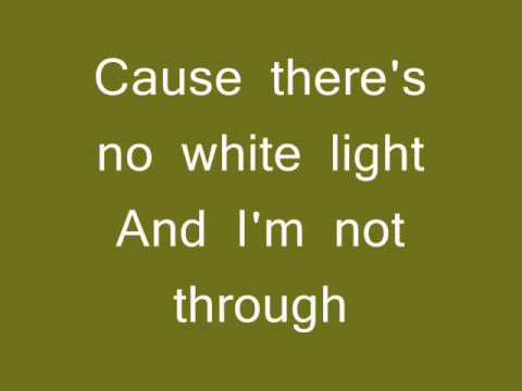 George Michael - White Light (lyrics video)