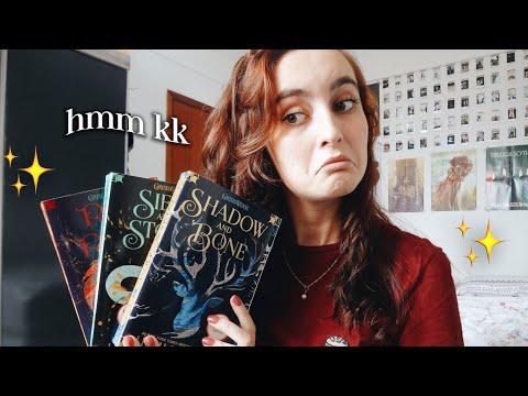 TRILOGIA SOMBRA E OSSOS, de Leigh Bardugo | booktalk com a Ana