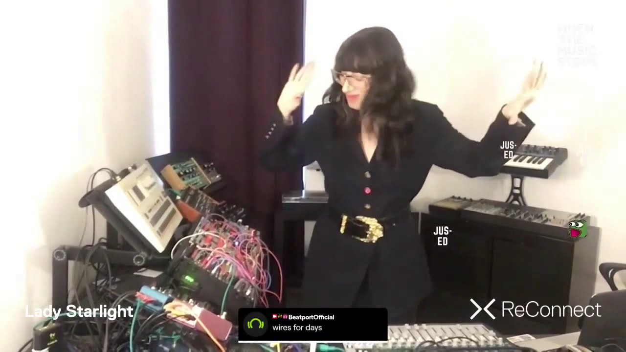 Lady Starlight - Live @ ReConnect: When the Music Stops 2020