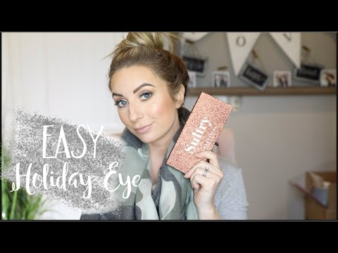 Easy Cool Toned Holiday Eye Tutorial | ABH Sultry Palette