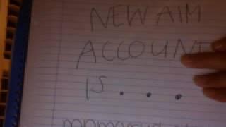 miley cyrus's new aim account