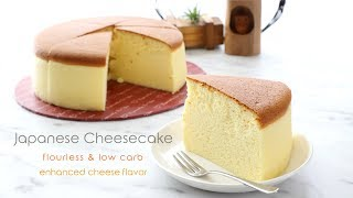 Low-Carb Fluffy Japanese Cheesecake - Healthy Baking Recipe   Craft Passion