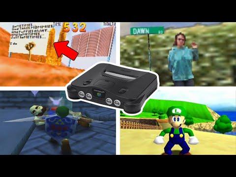 7 Secretos Extraños En Juegos Del Nintendo 64
