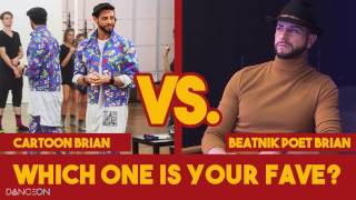 Brian Friedman: Cartoon Brian vs. Beatnik Poet Brian  | Undressed