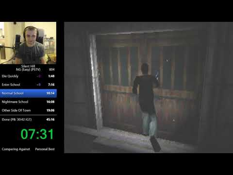 Silent Hill 1 Any% Speedrun in 30:36
