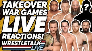 WWE NXT TakeOver: War Games 2019 LIVE Reactions! | WrestleTalk Live