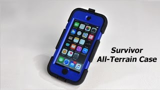 Survivor All-Terrain Case For Apple IPod Touch (5th/6th Gen.) Unboxing