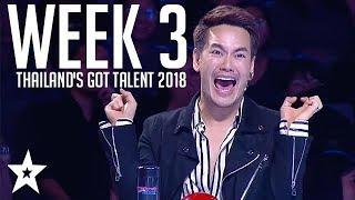 Thailand's Got Talent Auditions | WEEK 3 | Got Talent Global
