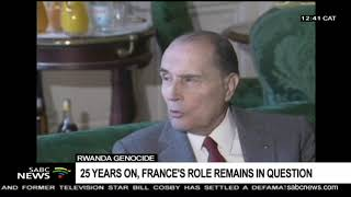 France's role in the genocide of Tutsis remains in question