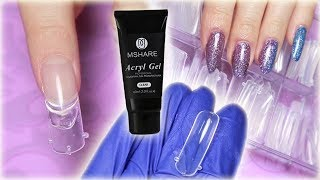 DUAL FORMS with Acryl Gel - Mshare Review & Tutorial