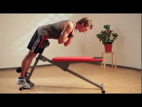 Christopeit Sport - Fitnessbank Multicompact