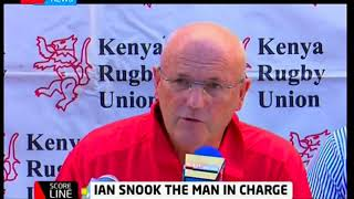 Score Line: Ian Snook the man in charge of Kenya Rugby Simbas