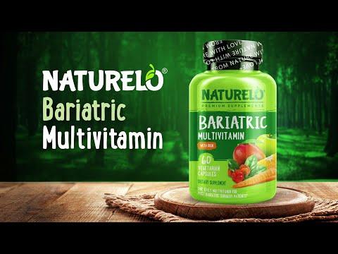 NATURELO, متعدد الفيتامينات متناسب مع السمنة معزز بالحديد، 60 كبسولة نباتية
