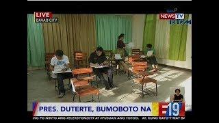 #Eleksyon2019: Pagboto ni Pres. Duterte