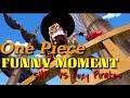 One Piece luffy vs Foxy pirate punch battle